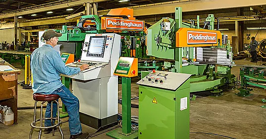 The Peddinghaus Advantage 2 Beam Drill/Saw Line